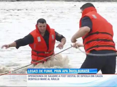 Operatiune de salvare pe raul Prahova