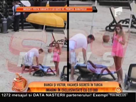 Bianca și Victor, vacanță secretă în Turcia