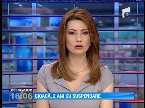 Cristian Cioacă a primit doi ani de închisoare pentru violarea corespondenţei Elodiei