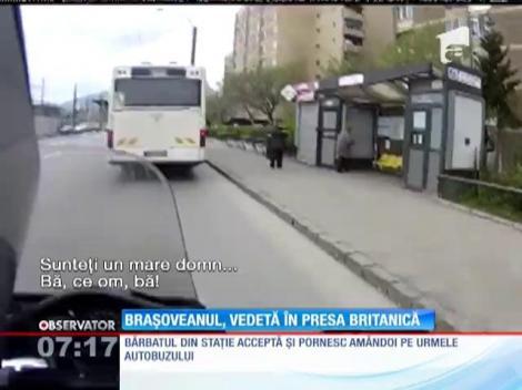 Brașoveanul, vedetă în presa britanică