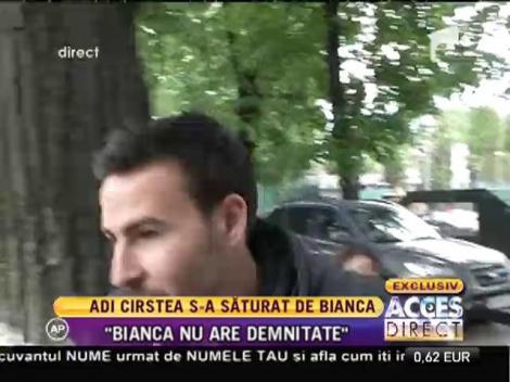 Mesaj dur de la amantul Cristea pentru Bianca Drăgușanu