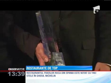 Patru restaurante din Europa şi unul din SUA se află în topul celor mai bune unităţi de profil din lume