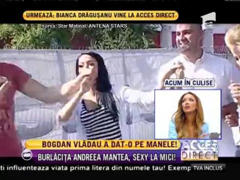 Bogdan Vlădău a dat-o pe manele!