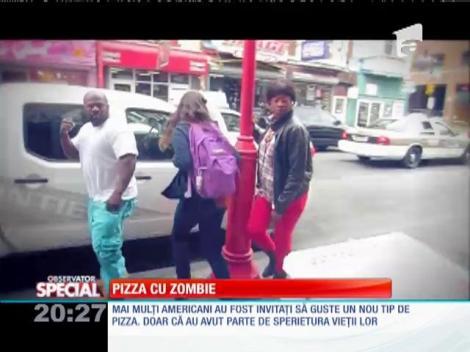 Pizza cu zombie