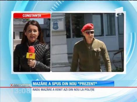 Radu Mazăre, din nou la Poliţie