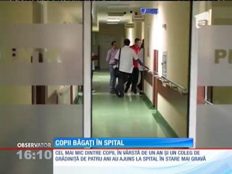 14 copii de la o gradiniţă din Satu Mare, internaţi in spital cu toxiinfecţie alimentară