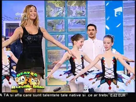 Frumusețe pe poante! Flavia Mihăşan, profa de balet la Neatza