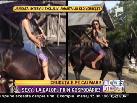 Daniela Crudu este pe CAI mari! Vedeta rămâne SEXY în orice situaţie