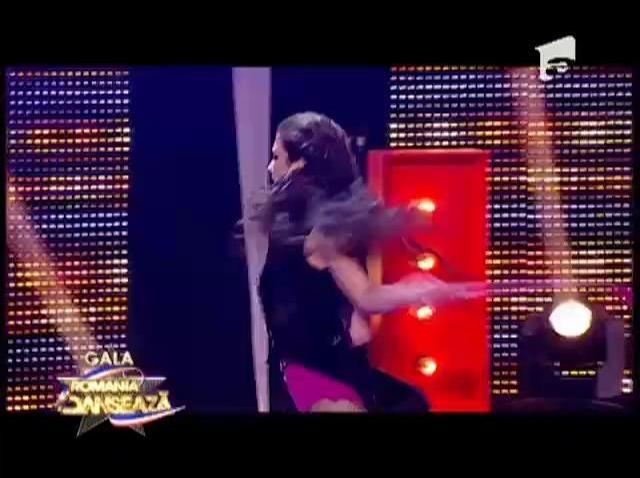 Luana Chebeleu a IMPRESIONAT din nou și s-a impus în duelul fetelor