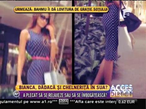 Detalii incredibile ies la iveală! Bianca Drăgușanu, dădacă și chelneriță în SUA?!