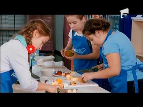 Echipele se delectează cu omletă și smoothie-uri