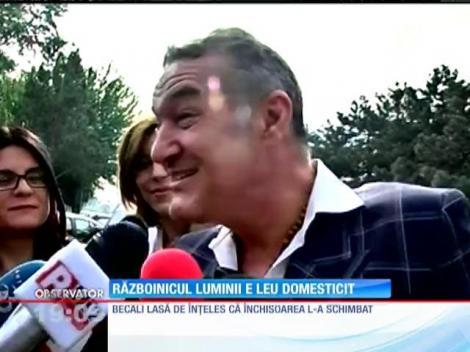 Gigi Becali vrea să arate că închisoarea l-a făcut mai puternic