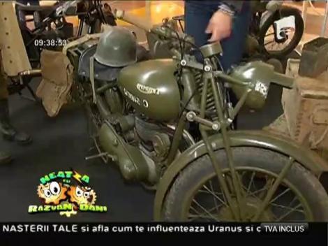 Expoziţie de motociclete de epocă