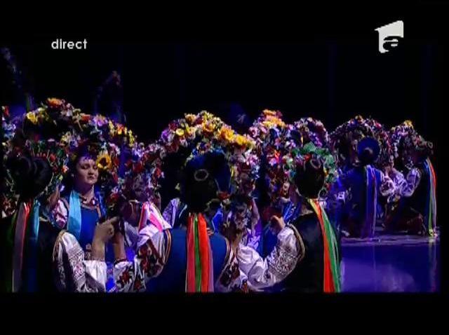 Moment istoric pentru satul Bălcăuți! Ansamblul Kozaciok, adică tradiție, culoare și talent