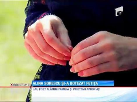 Alina Sorescu şi Alexandru Ciucu şi-au botezat fetiţa