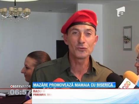 Radu Mazăre promovează Mamaia cu biserica