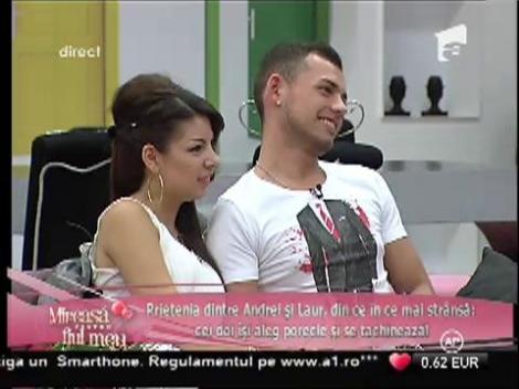 Andrei și Laur leagă o prietenie tot mai strânsă!