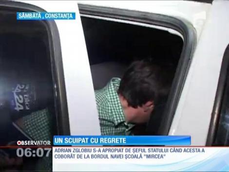 Bărbatul care l-a scuipat pe preşedintele Traian Băsescu s-a întors acasă