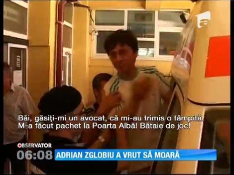 UPDATE / Atacatorul lui Băsescu a încercat să se sinucidă