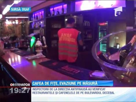 Fiţele din Bucureşti nu ţin cont de bonul fiscal