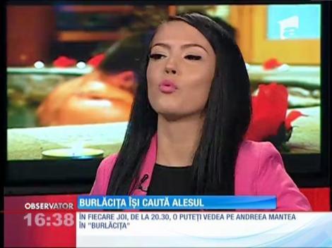Andreea Mantea este noua Burlăciţă la Antena 1!