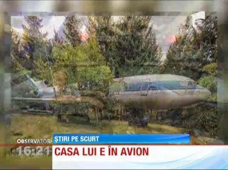Un bărbat din Oregon a transformat o aeronavă Boeing într-o locuinţă
