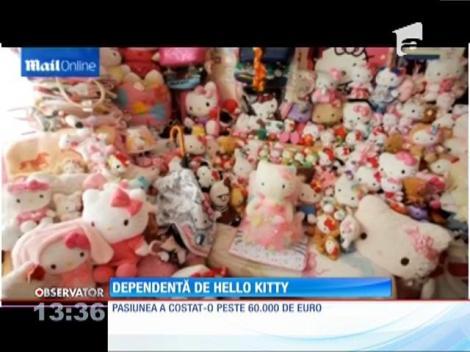 Britanică de 29 de ani, dependentă de Hello Kitty