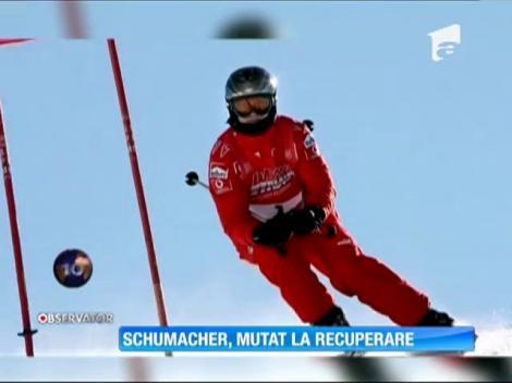 Michael Schumacher a fost mutat de la terapie intensivă la recuperare