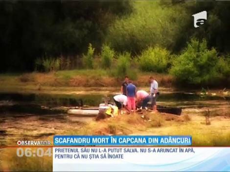 Un scafandru militar şi-a pierdut viaţa, înecat într-un lac de la marginea oraşului Tulcea