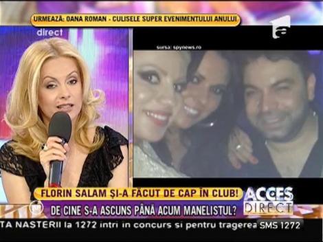 Florin Salam și-a făcut de cap în club, alături de trei DIVE sexy!
