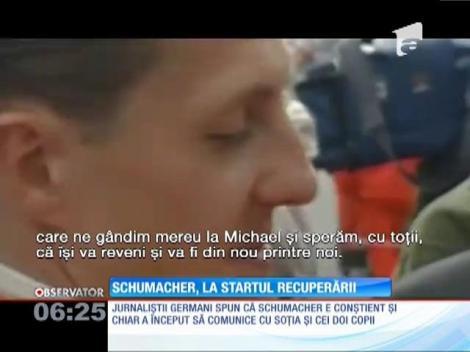 UPDATE / Michael Schumacher a ieşit din comă