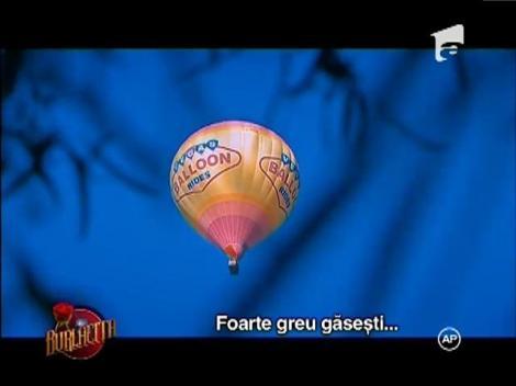 În al nouălea cer! Valentin, invitat la o plimbare cu balonul