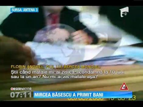Mircea Băsescu a primit bani de la familia lui Bercea Mondial