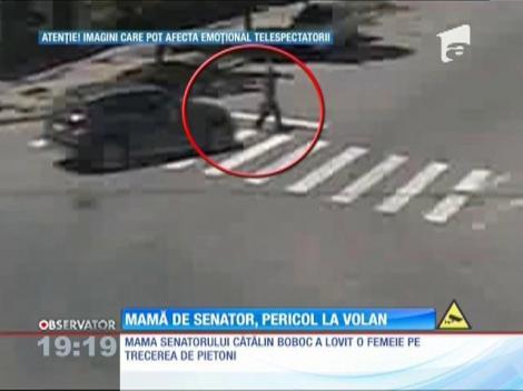 Mamă de senator, pericol la volan