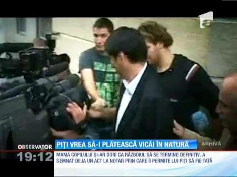 Victor Piţurcă reia războiul cu Vica: Selecționerul vrea să plătească pensia alimentară în natură