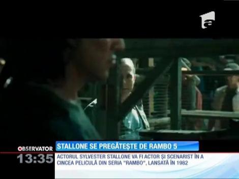 Sylvester Stallone se pregăteşte de Rambo 5