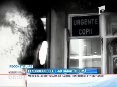 Un băiat a ajuns în comă la spitalul din Târgu-Jiu, din cauza etnobotanicelor