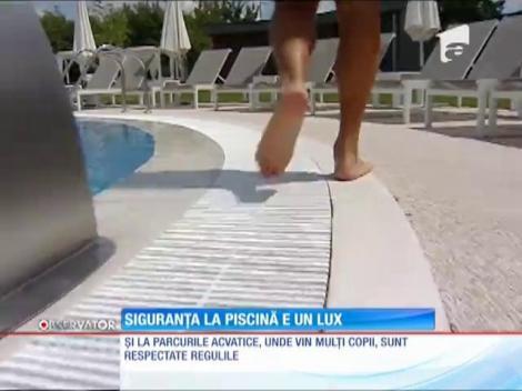 Siguranţa la piscină, un lux în România