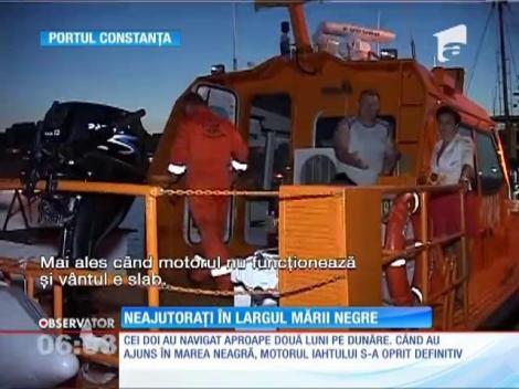 Doi turişti germani au rămaşi blocaţi cu iahtul în largul Mării Negre