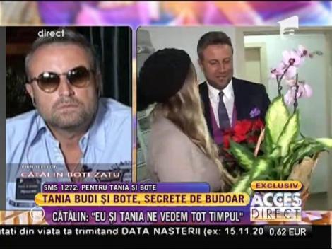 """Cătălin Botezatu şi Tania Budi au o relaţie frumoasă: """"Noi ne iubim"""""""