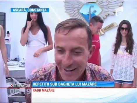 Radu Mazăre a coordonat ultimele repetiţii pentru parada carelor alegorice