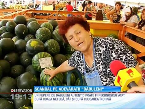 Pepenii de Dăbuleni, vânduți sub nume fals