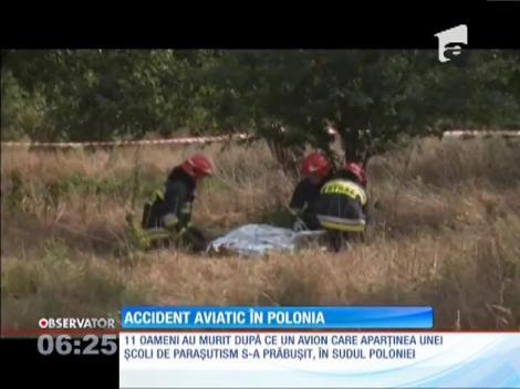 Grav accident aviatic în Polonia. 11 oameni şi-au pierdut viaţa