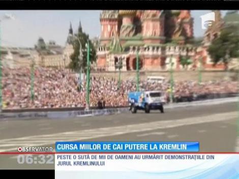 Demonstraţie de Formula 1 în capitala Rusiei