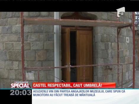 Special! Castelul Iuliei Haşdeu din Câmpina, distrus de renovare