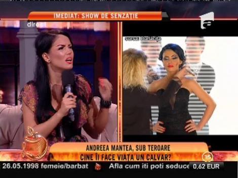 """Andreea Mantea: """"Aproape m-am îndrăgostit"""""""