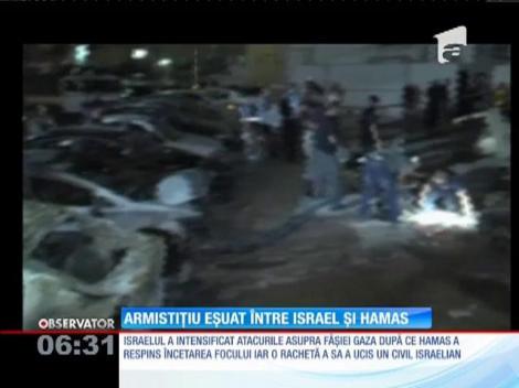 Armistiţiul eşuat între Israel şi mişcarea Hamas