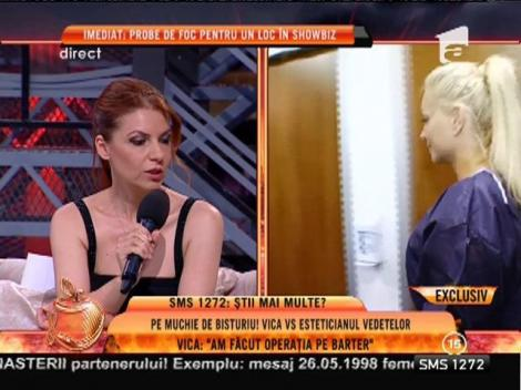 "Vica Blochina: ""Am făcut operația pe barter"""