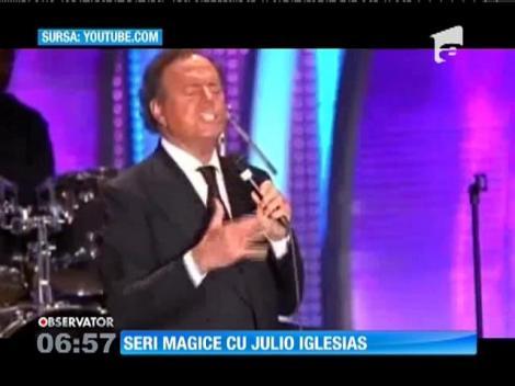 Julio Iglesias va concerta în acest weekend la Mamaia