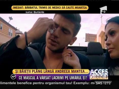 Un concurent de la Burlăciţa a vărsat lacrimi amare în faţa Andreei Mantea